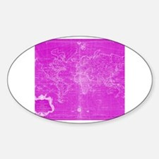 Cute Pink map Decal