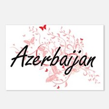 Azerbaijan Artistic Desig Postcards (Package of 8)