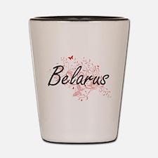 Belarus Artistic Design with Butterflie Shot Glass