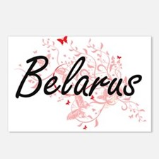 Belarus Artistic Design w Postcards (Package of 8)