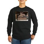 Mangy Moose Long Sleeve Dark T-Shirt