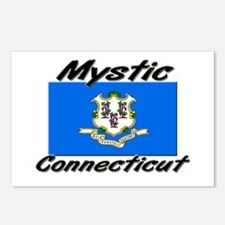 Mystic Connecticut Postcards (Package of 8)