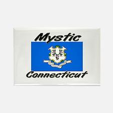 Mystic Connecticut Rectangle Magnet