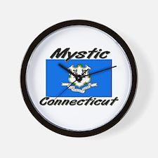 Mystic Connecticut Wall Clock