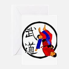 Budo Jiu Jitsu Greeting Cards