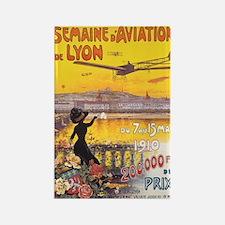 Vintage Semaine d'Aviation de Rectangle Magnet