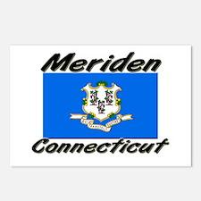 Meriden Connecticut Postcards (Package of 8)