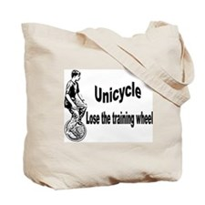 Unicycles Tote Bag