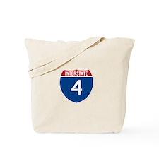 Interstate 4 Tote Bag