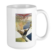 Vintage Nice Aviation Poster Mug