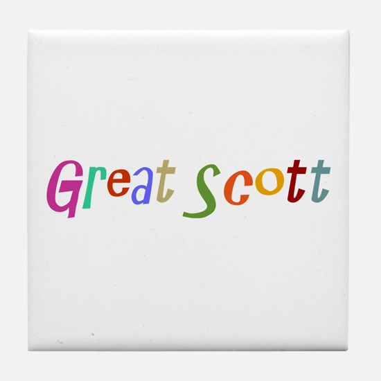 Great Scott Tile Coaster