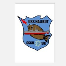 USS Halibut (SSGN 587) Postcards (Package of 8)