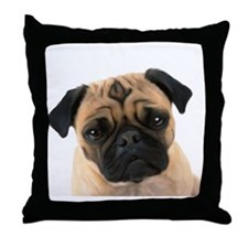 Cute Puppies Throw Pillow