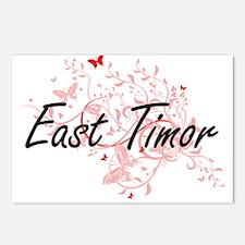 East Timor Artistic Desig Postcards (Package of 8)