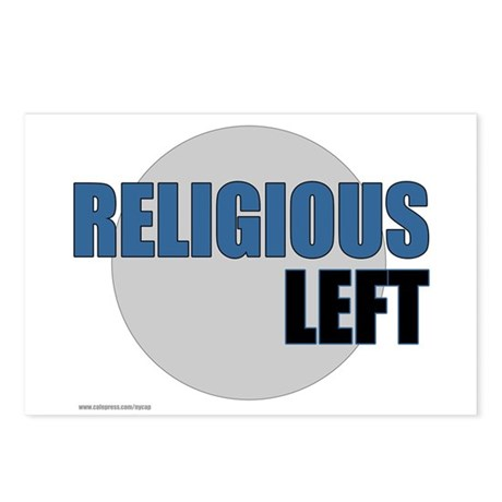 Religious Left II Postcards (Package of 8)