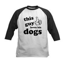 This guy loves dogs Tee
