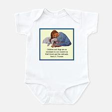 Truman Quote Infant Bodysuit