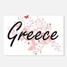 Greece Artistic Design wi Postcards (Package of 8)