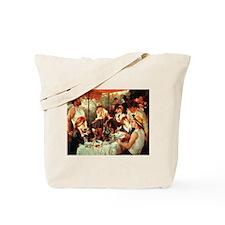 Renoir Boating Party Tote Bag