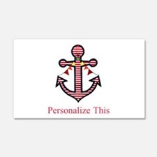 Personalized Nautical Anchor Wall Decal
