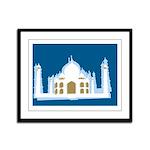 Taj Mahal Framed Panel Print