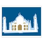 Taj Mahal Small Poster