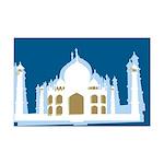Taj Mahal Mini Poster Print