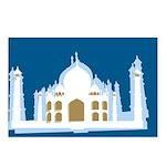 Taj Mahal Postcards (Package of 8)