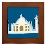 Taj Mahal Framed Tile