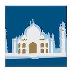 Taj Mahal Tile Coaster