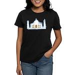 Taj Mahal Women's Dark T-Shirt
