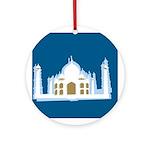 Taj Mahal Ornament (Round)