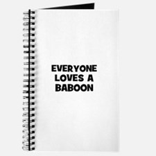 everyone loves a baboon Journal