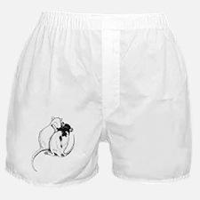 Rat Hug Boxer Shorts