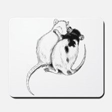 Rat Hug Mousepad