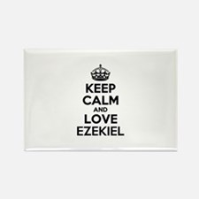 Keep Calm and Love EZEKIEL Magnets