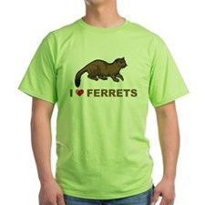 I Love Ferret T-Shirt