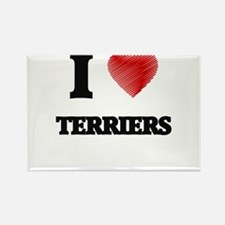 I love Terriers Magnets