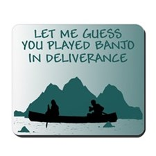 Insulting slogan Deliverance Mousepad