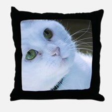 Fat Face Throw Pillow