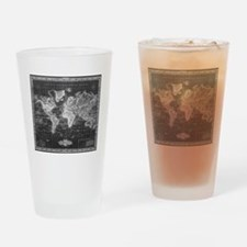 Funny Maps Drinking Glass