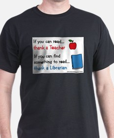 Teacher...Librarian T-Shirt