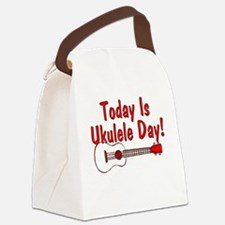 Ukulele Day Canvas Lunch Bag