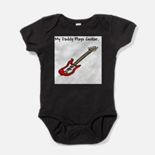Unique My dad plays bass Baby Bodysuit