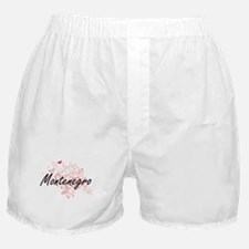 Montenegro Artistic Design with Butte Boxer Shorts