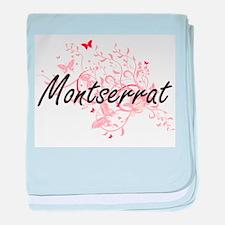 Montserrat Artistic Design with Butte baby blanket