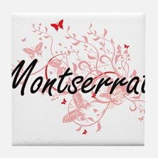 Montserrat Artistic Design with Butte Tile Coaster
