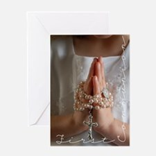 My First Communion 2 Greeting Cards