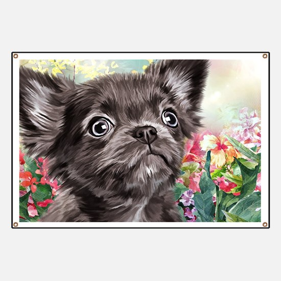 Chihuahua Painting Banner