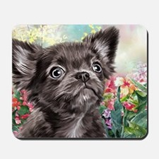 Chihuahua Painting Mousepad